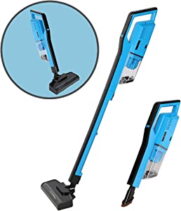 Magshion 2 in 1 Cordless Stick Rechargeable Multifunction Vacuum Cleaner, Bagless Lightweight Handheld Vacuum for Floor Carpet
