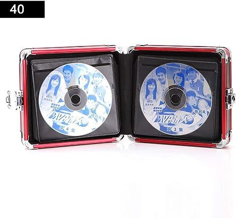 GWXJZ Estanterías para CD DVD Paquete de CD Estuche para CD Caja de Almacenamiento de DVD