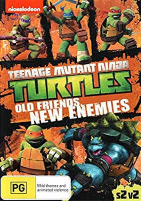 Teenage Mutant Ninja Turtles: Old Friends, New Enemies ...