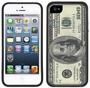 100 Dollar Bill American USA Currency Handmade iPhone 5C Black Case
