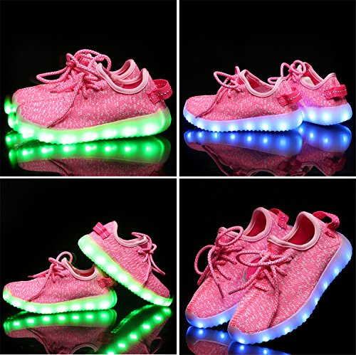 AjayR Light up Shoes-Flashing Sneakers Led Shoes Luminous Light Shoes for Boys Girls by AjayR (Image #2)