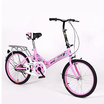 XQ 1620URE 20 Pulgadas Bicicleta Plegable Bicicleta de Velocidad Individual Hombres y Mujeres Bicicleta Bicicleta para