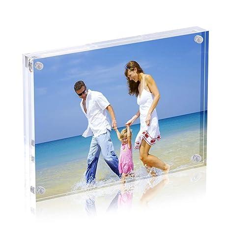 Cadre De Photo Magntique Cadres Photos Acryliques AmeiTech Contient Des Images 9 X