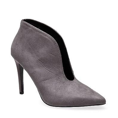 5c5e51081df La Modeuse - Low Boots échancrées en suédine  Amazon.fr  Chaussures ...