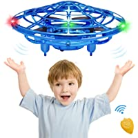 CPSYUB Mini Drone Flying Toys for 4, 5, 6, 7, 8, 9, 10 Year Old Boys / Girls, Toys for 5 Year Old Boys, Hands Free Drone Gifts for 3, 4, 5, 6, 7, 8, 9 Year Old Boys, Drone for Kids Toys Gifts (Blue)