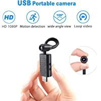 HD Spy Camera Hidden,Rettru USB Portable Video Recorder, Concealed Security Camera for Family,Motion Detection Surveillance Camera for Baby or Pet
