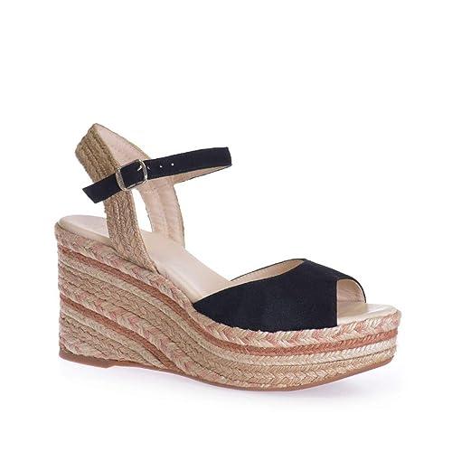 Porto-A - Alpargata para Mujer de TONI PONS Hecha en Ante.: Amazon.es: Zapatos y complementos