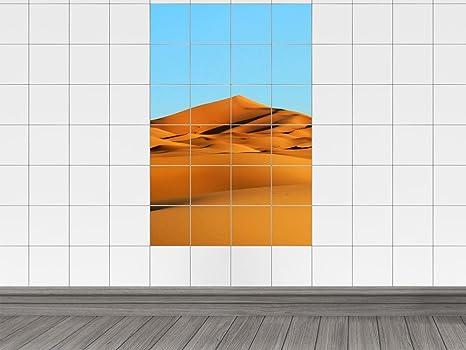 Piastrelle adesivo piastrelle immagine deserto tropicale con