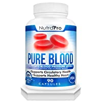 Blood Pressure Support Supplement – Healthy Heart,Cholesterol Level, Cardiovascular Support.with Hawthorn & Hibiscus.Natural Anti-Hypertension.Made in GMP Certified Facility.90 Capsules