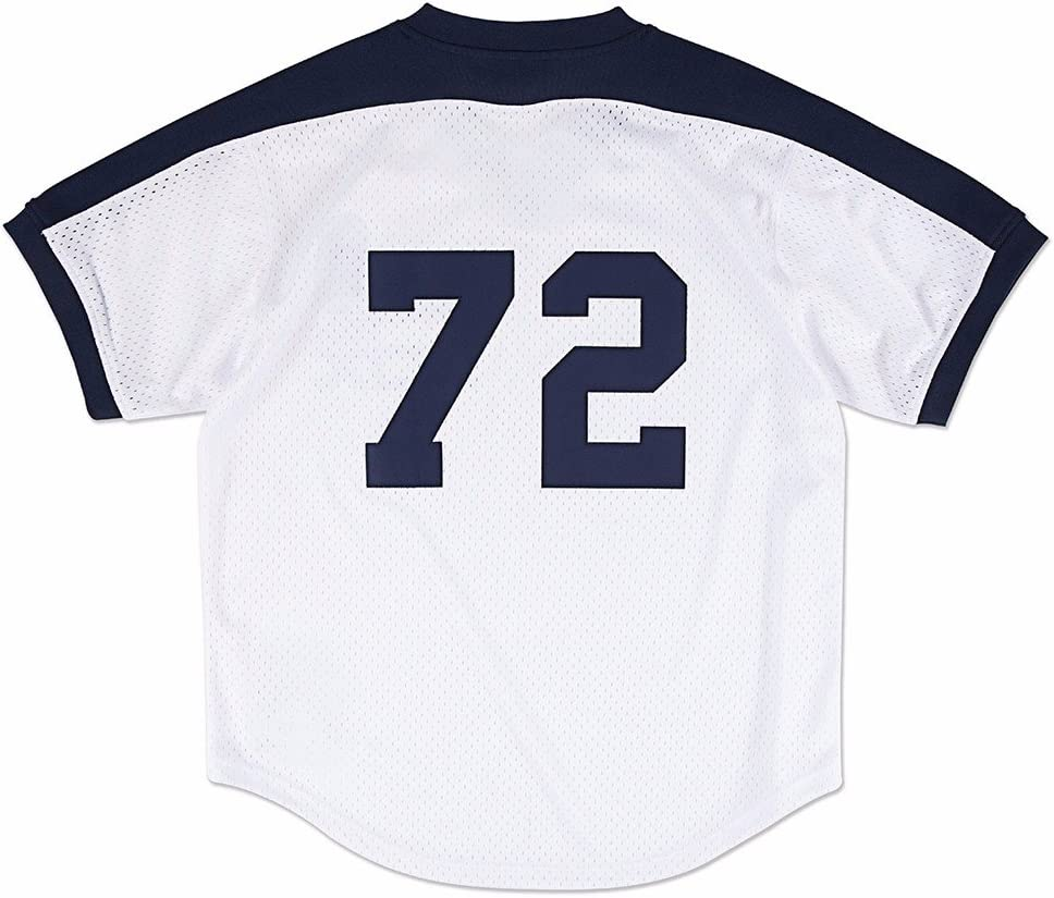 Chicago White Sox Authentic Carlton Fisk 1981 BP Jersey by Mitchell & Ness 619p-N79DwL