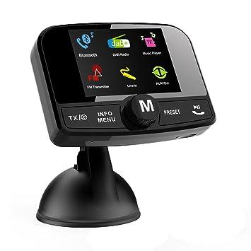 Voiture Dabfm radio récepteur Pour Bluetooth Bluetooth Transmetteur shQCdtr