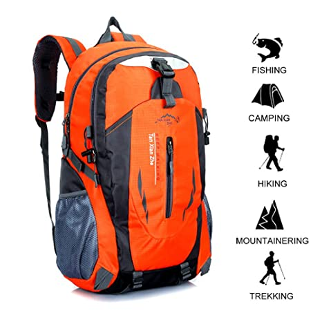 467cc0ecca Hiking Backpack 40L Waterproof Trekking Backpack Outdoor Sport Daypack  Mountaineering Backpack for Outdoor Travel Hiking Climbing