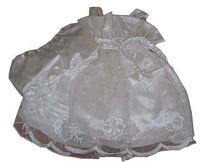Muñeca con vestido de para bebés de la fiesta de vestido de chica de espaldas en