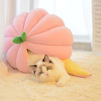 MarioRZ Saco de Dormir para Mascotas, Suave, Cálido, para Gatos, Cama de