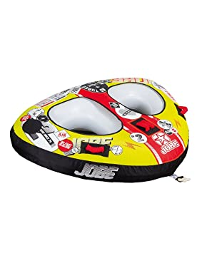 Jobe Double Trouble 2P - Flotador de Arrastre, Color Amarillo: Amazon.es: Deportes y aire libre