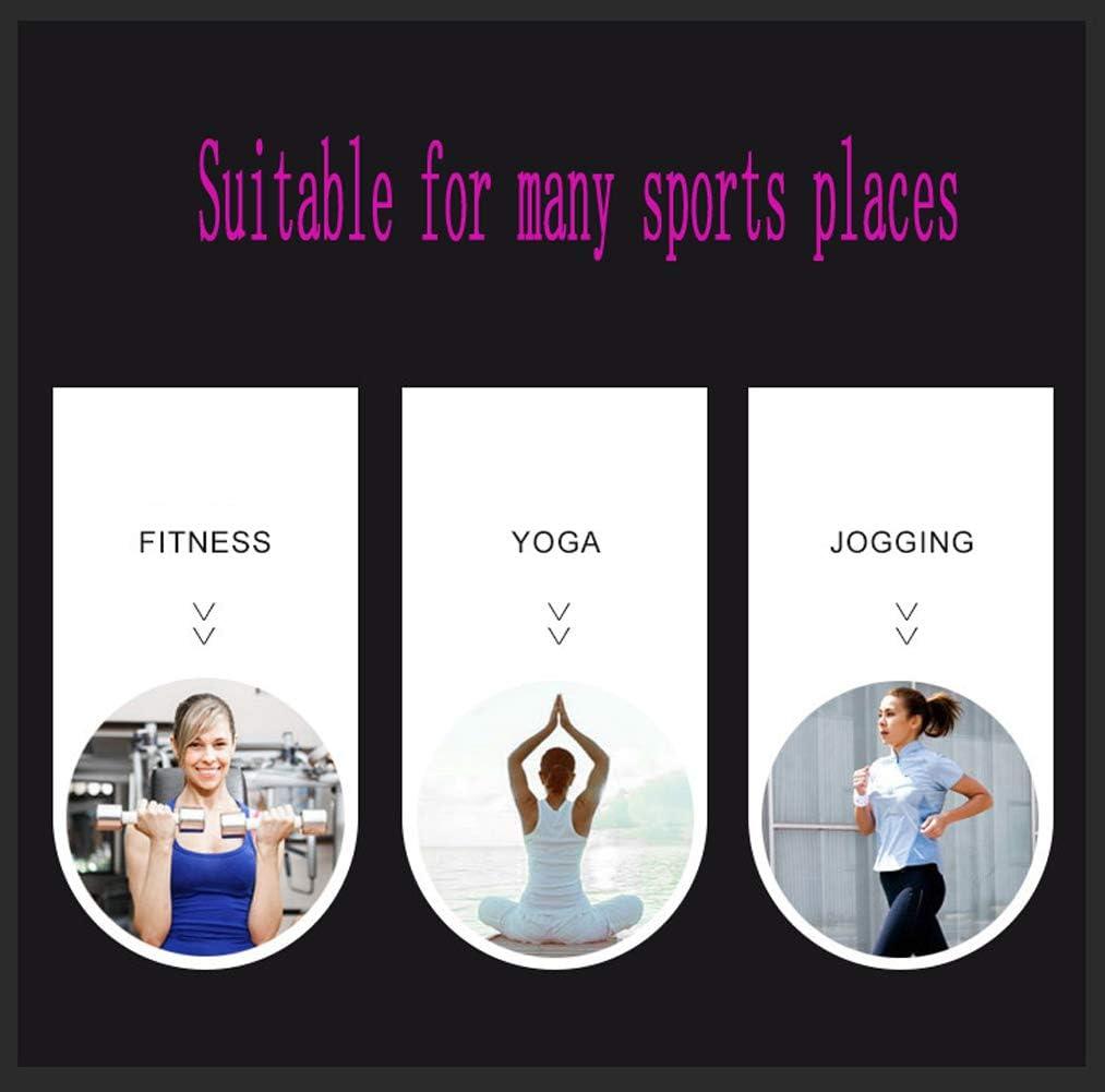 Vêtements de Sport pour Femmes Yoga Wear Set Soutien-Gorge de Sport + Leggings Taille Haute 2 pièces F