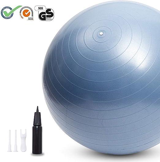 MQSS Pelota de Ejercicio Anti-Burst Fitball Bola de Yoga ...