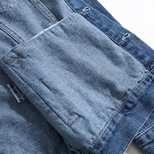 Trucker Blue Jacket Denim 03 Classic Outwear Men Tookang Jackets q1OA4A