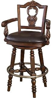 Ashley Furniture Signature Design   North Shore Swivel Barstool   Antique  Style   Pub Height