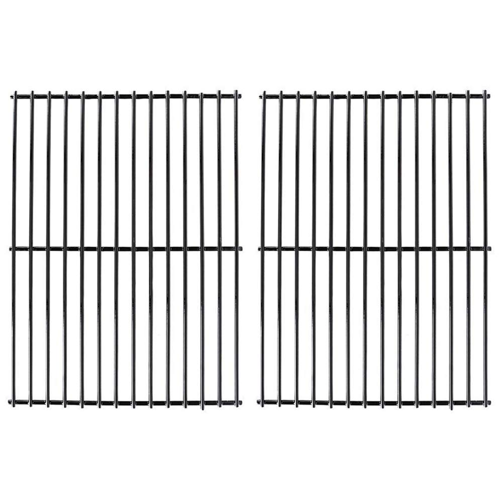 X Home Grill Grate 16 5/8'' Grill Replacement Parts 16 inch Cooking Grid for Gas Charbroil 463240804, Centro 2000, Kenmore, Master Chef, Thermos, Kirkland, Porcelain Steel (2 Pack, 16 5/8'' x 12 1/4'')