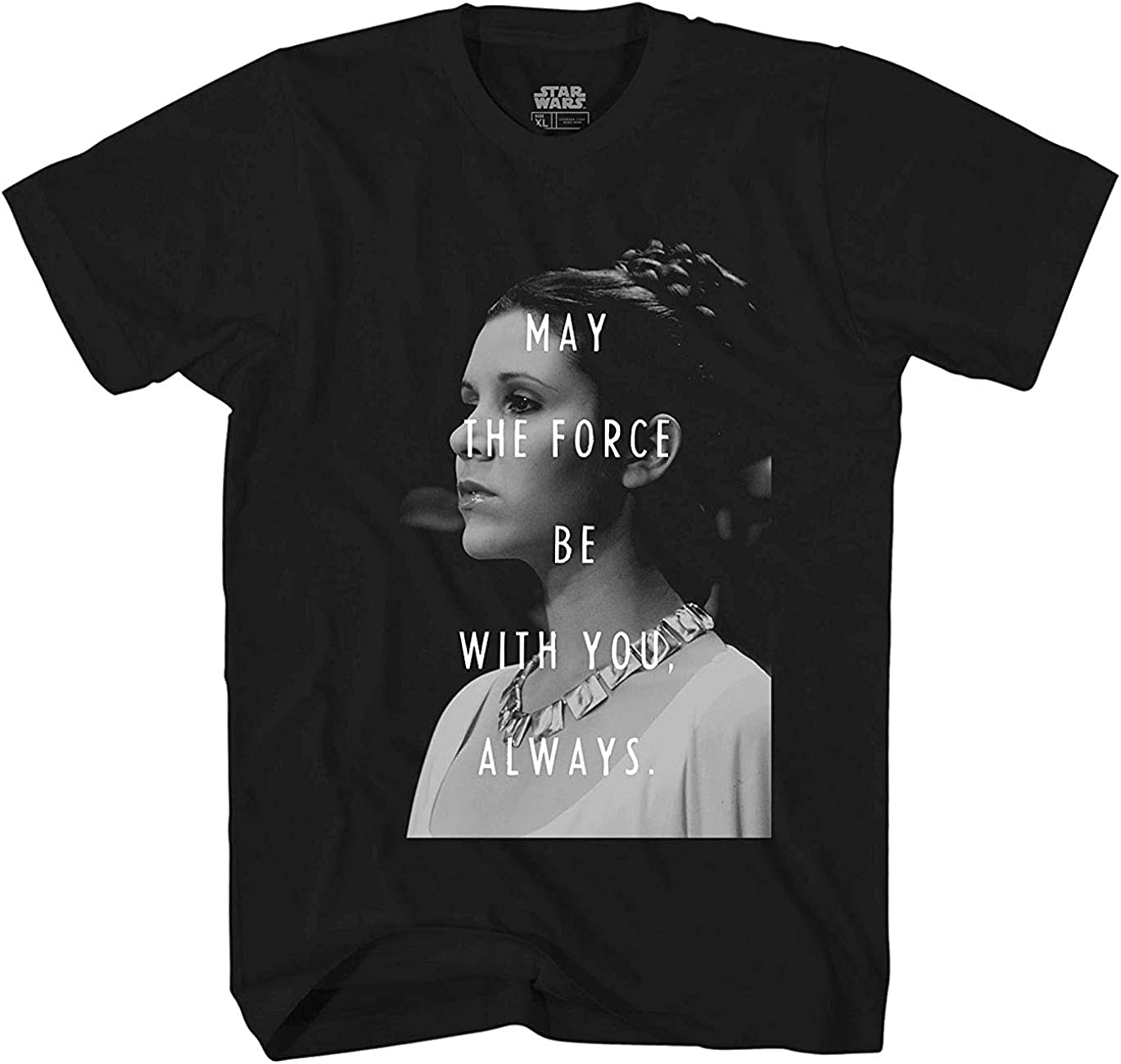Star Wars Princess Leia May The Force Be with You T-Shirt
