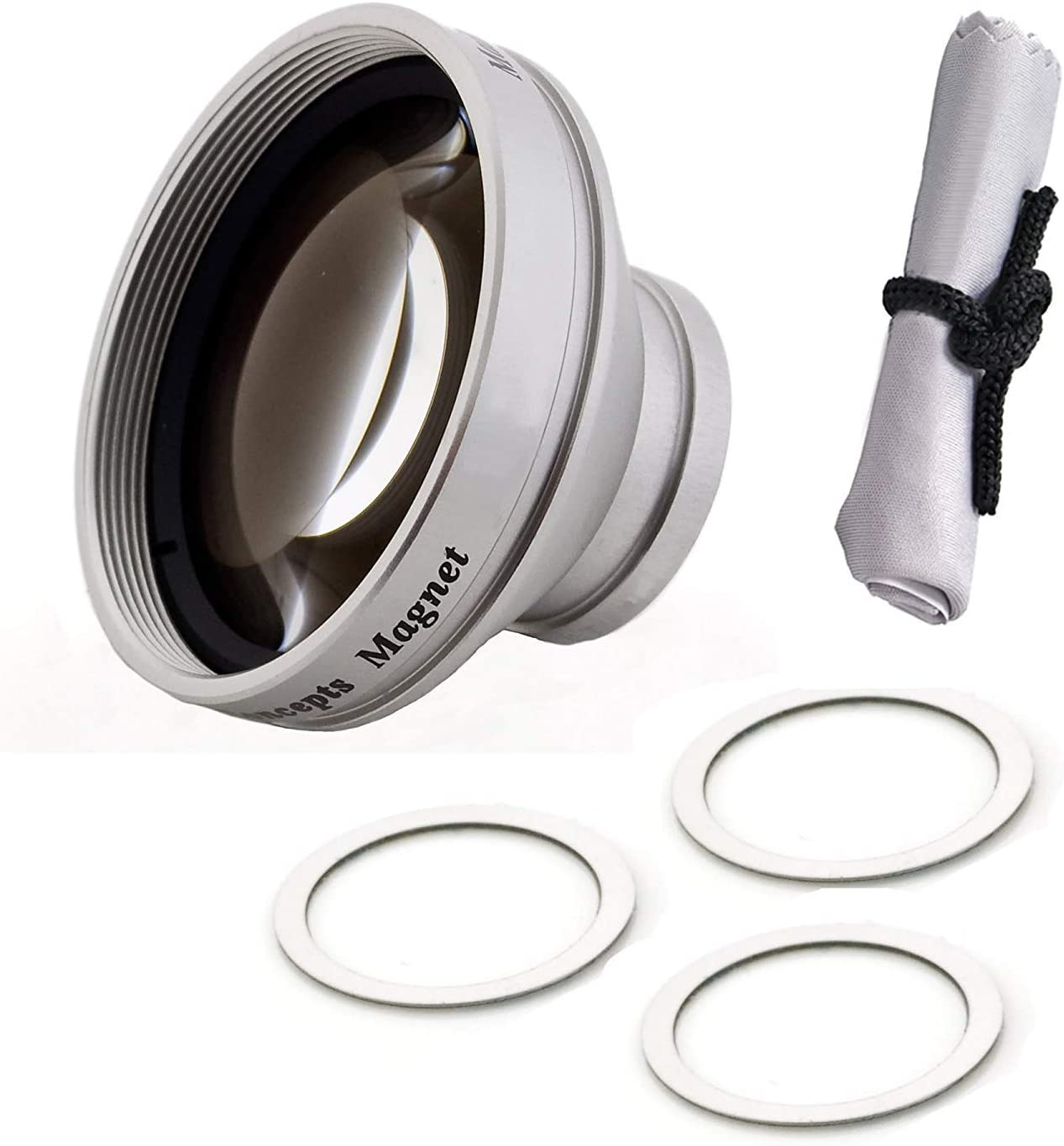 Modification Style 0.45x Wide Angle Lens with Macro Magnetic Type for Samsung HMX-U10