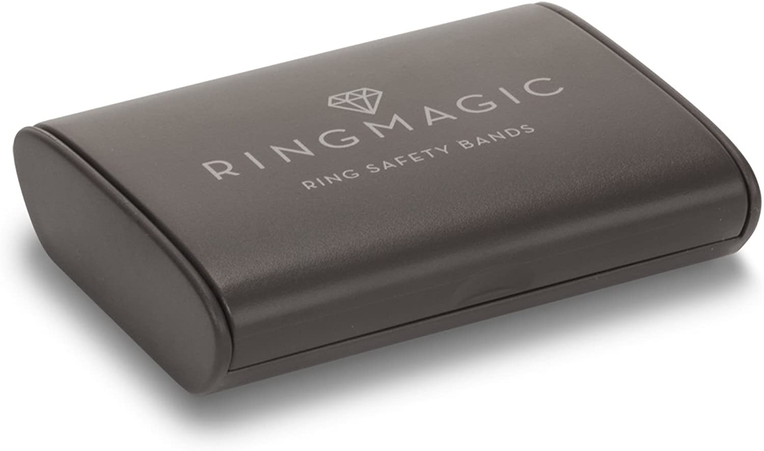 Ring Magic Ring Resizer, Ring Safety Bands, 12 Pack Large (for Ring Size 7-12) with Compact Case