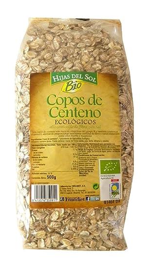 Hijas Del Sol Bio Copos De Centeno - 500 gr - [Pack de 4]