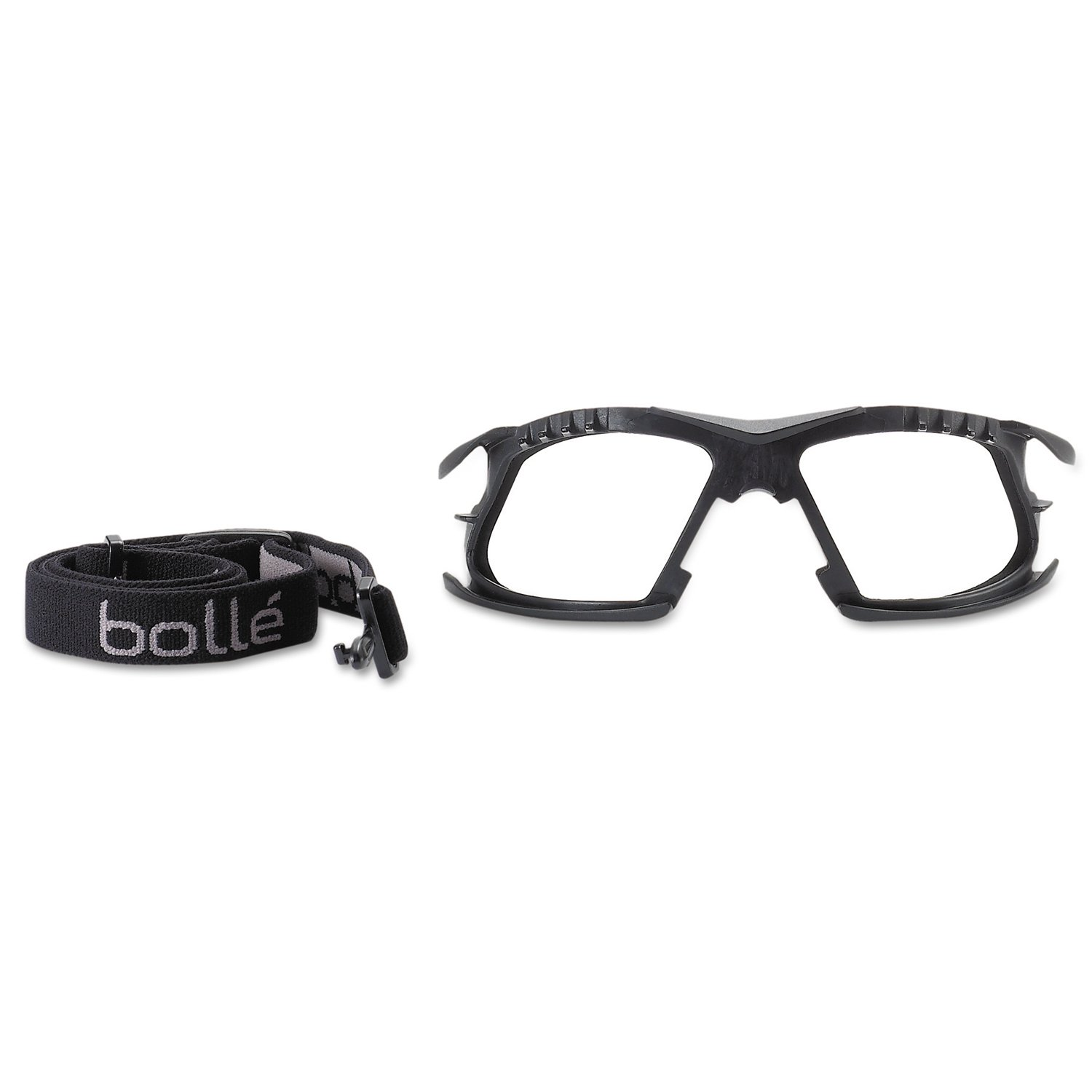 Safety Glasses With Clear Anti-Fog Scratch-Resistant BOLLE SAFETY 40243 Rush