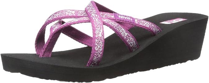 Teva Women's W Mush Mandalyn Wedge Ola 2 Flip-Flop