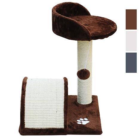 E-Starain Rascador para Gatos,Árbol/Escalador para Gatos con Plataformas,Bolas