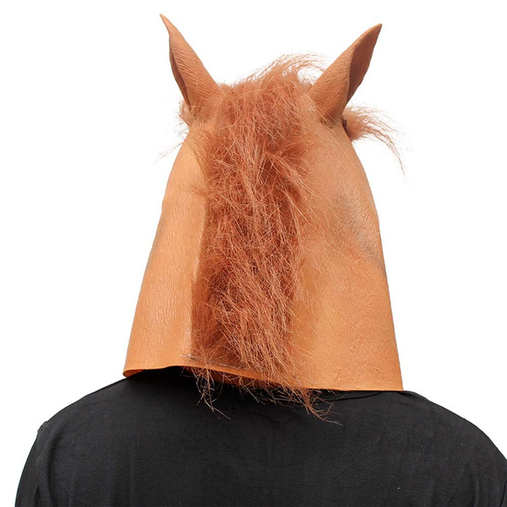 Amazon.com: Máscara de látex para Halloween, con cabeza de ...