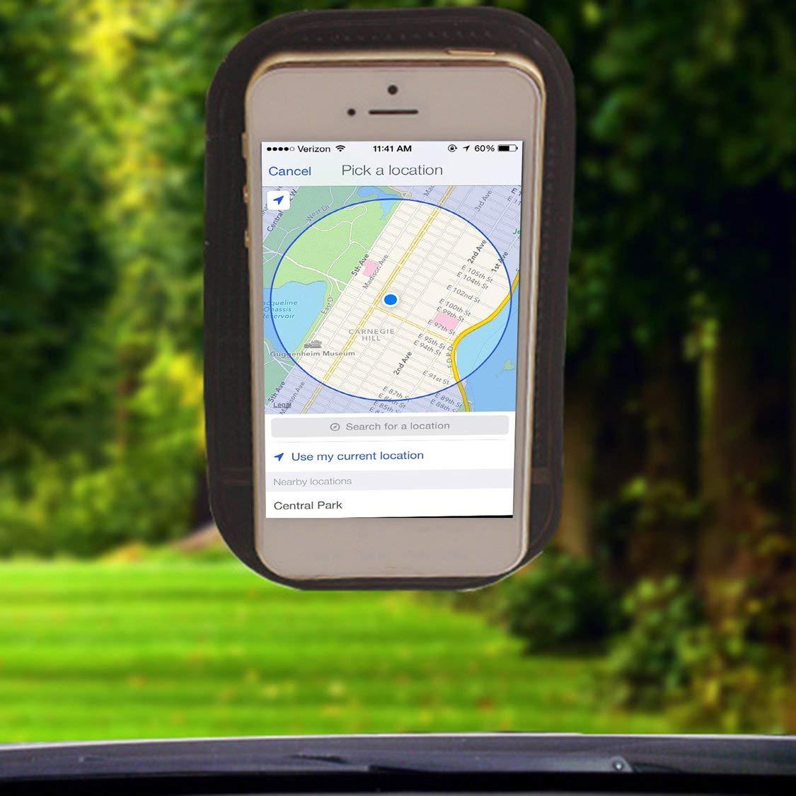 Anti-Slip Car Dash Sticky Gel Pad Non-Slip Support De Montage Universel Tapis Lavable Silicone Gel Pad Accessoires De Voiture