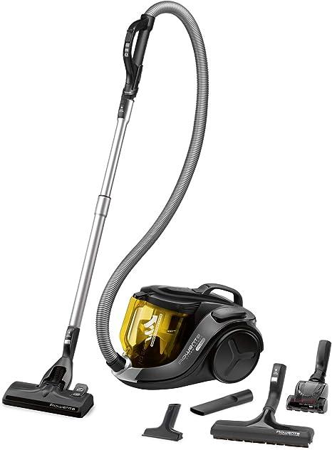 RowentaX-Trem Power Cyclonic - Aspirador (75 dB, filtración de aire y suciedad, eficiencia energética A), amarillo: Amazon.es: Hogar