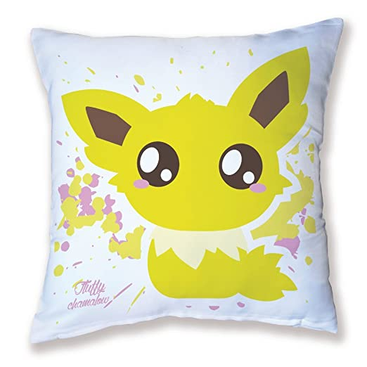 Pokemon Cojín Voltali/Jolteon Chibi y Kawaii by Fluffy ...