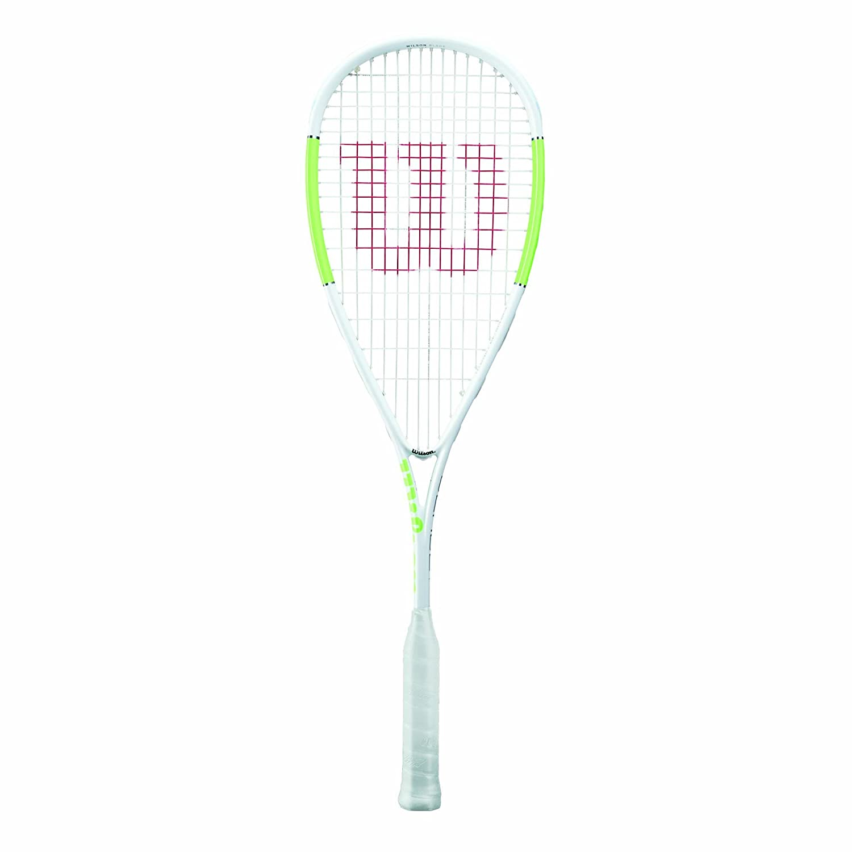Wilson Blade UL SQ RKT 1//2 CVR Squash Racket Adulte Unisexe White//Green Taille Unique
