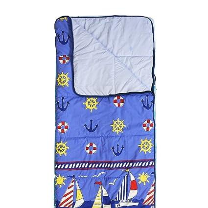 Hosa - Saco de Dormir Barcos Azul Estampado