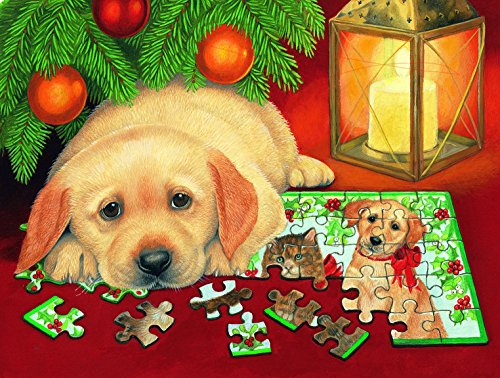 A Puzzle for Christmas 500 Piece Jigsaw Puzzle by SunsOut