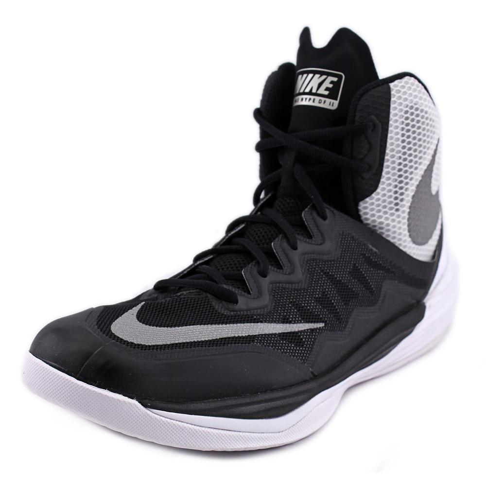timeless design 9ac26 291a3 NIKE Mens Prime Hype DF 2016 Basketball Shoes Black/Silver/White 806941-001  Size 10