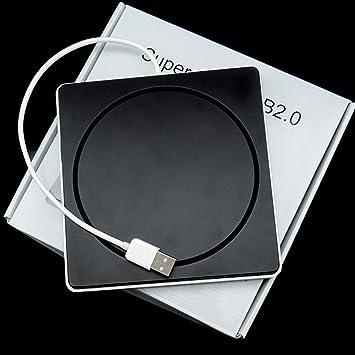 WOSOSYEYO Tipo de computadora portátil Suction Super Slim USB 2.0 ...