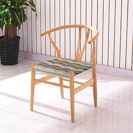 Amazon.com: Cojín cuadrado para silla de comedor de color ...