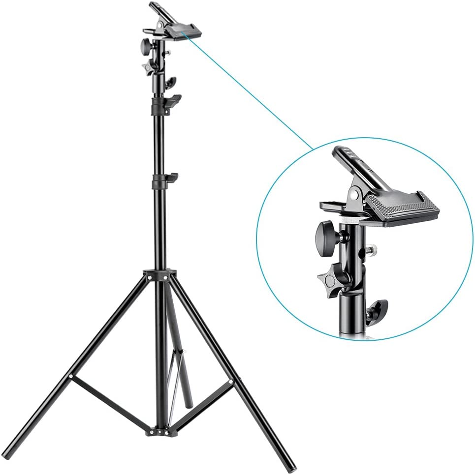 with Heavy-Duty Metal Clamp Holder for Photo Studio Shooting,Collapsible Reflector Translucent//Silver//Gold//White//Black 43 inches//110 Centimeters Neewer Photography 5-in-1 Multi-Disc Light Reflector