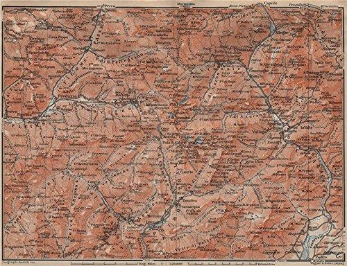 dolomiti-primiero-paneveggio-san-pellegrino-san-martin-di-castrozza-1911-old-map-antique-map-vintage