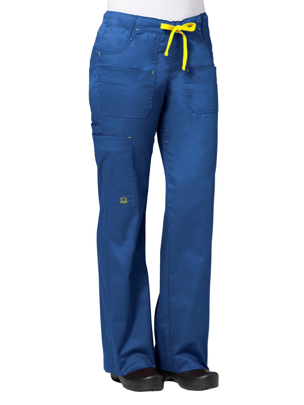 Maevn Blossom Women's Utility Cargo Pants (XXX-Large Tall, Royal Blue)