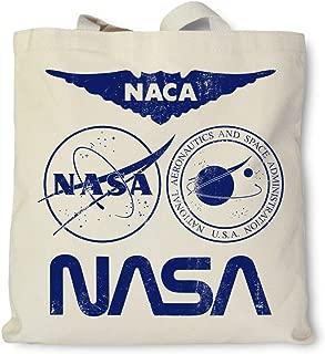 product image for Hank Player U.S.A. Multi NASA Logo Tote Bag