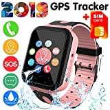Best Child Locator Watch For Kids - [SIM Card Included]Kids Smart Watch Phone for Girls Review