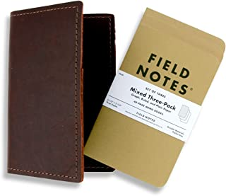 product image for Rustico Field Notebook Leather Burgundy