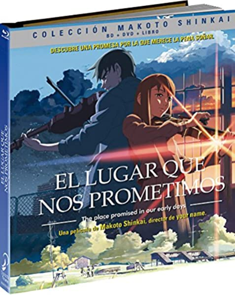 El Lugar Que Nos Prometimos.Digibook. Blu-Ray Blu-ray: Amazon.es: Animación, Makoto Shinkai, Animación: Cine y Series TV