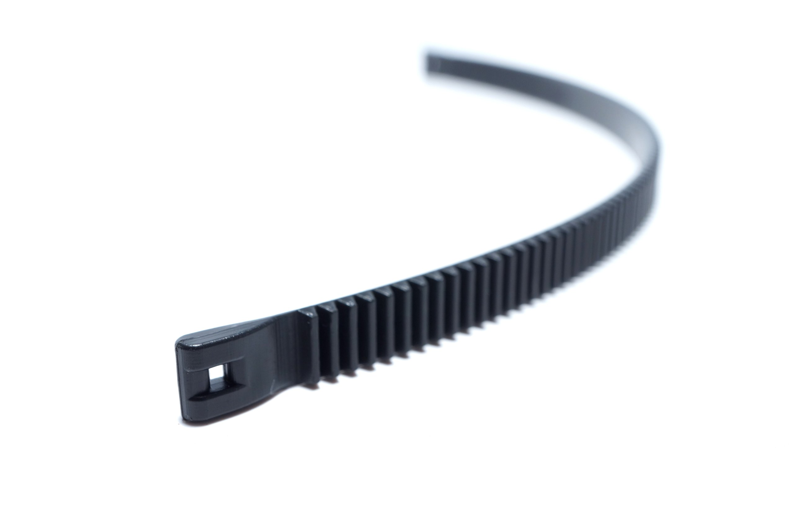 Lensgear Medium Plus Sized Lens Gear for Follow Focus, 9.25'' Long x 0.35'' Wide