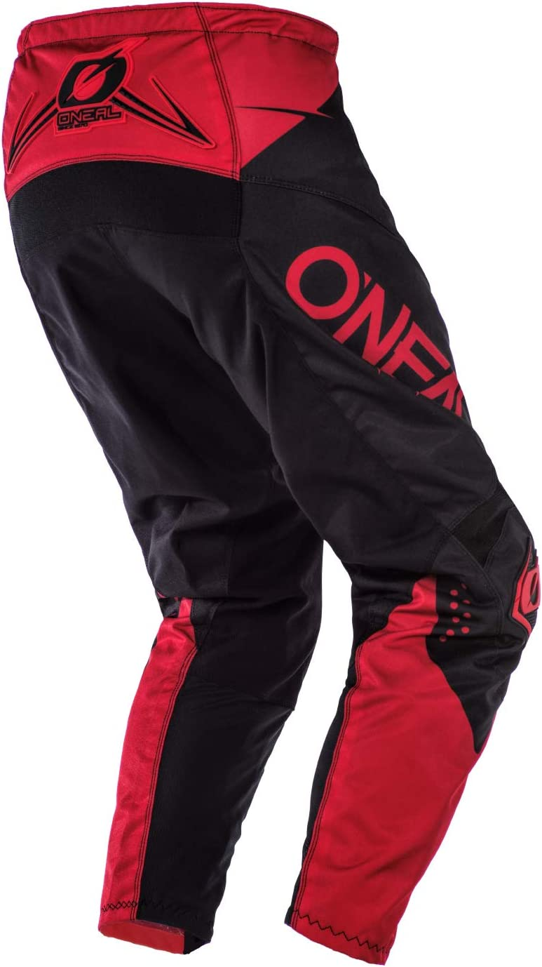 Black//Red, 34 ONeal Element Unisex-Adult Pants